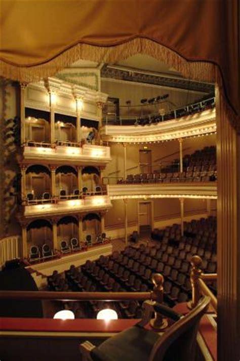 springer opera house view of emily woodruff hall at the springer opera house from a box seat picture of