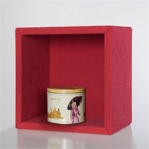mensole a cubi fabric mensola cubo da parete rivestita in tessuto 30 x 30 cm