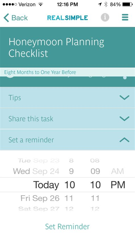 Wedding Checklist Real Simple by Real Simple Wedding Checklist