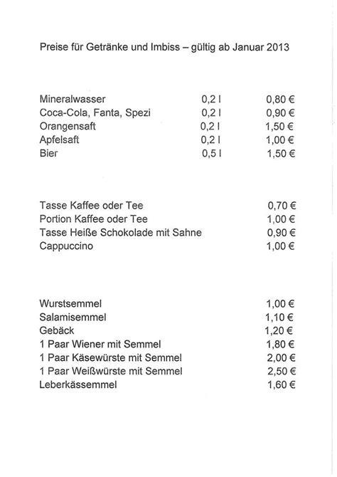 Muster Angebot Gastronomie Ausschreibung Des Betriebes Der Kantine Im 196 Mtergeb 228 Ude Wasserwirtschaftsamt Weiden