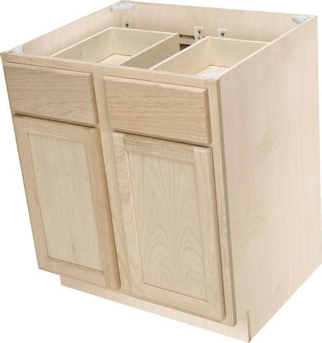 30 inch unfinished base cabinet with drawers quality one 30 quot x 34 1 2 quot unfinished premium oak double
