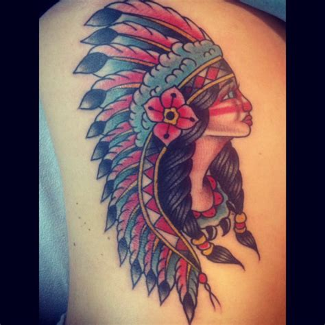 traditional indian tattoo on the ribs by alan yelp