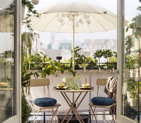 arredamento terrazzo ikea come arredare il balcone piccolo 10 soluzioni ikea