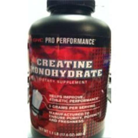 0 calorie creatine gnc pro performance creatine monohydrate dietary