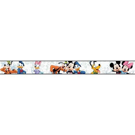 Orange Living Room Decor York Wallcoverings Walt Disney Kids Ii Mickey Amp Friends