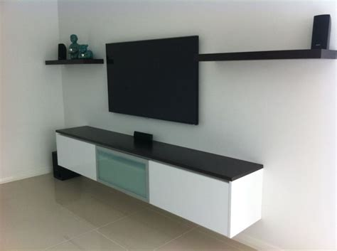 floating wall cabinet media theatre