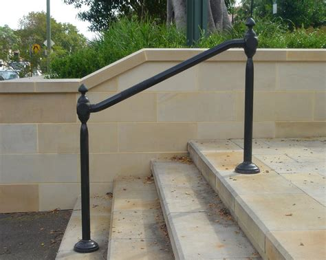 Metal Handrails For Steps wrought iron outdoor railings hollis park rails cast iron work wrought artworks