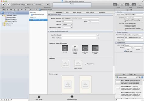 xcode tutorial cocoa iphone programmierung tutorial uitableviewcontroller mit