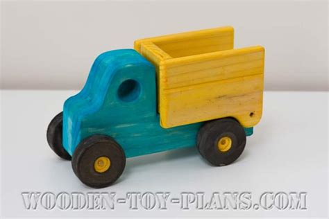 woodworking toy truck plans diy project