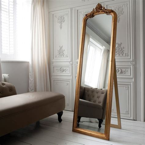Floor Mirrors Cheap by Eye For Design Decorate With Large Ornate Leaning Mirrors