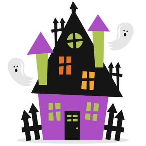 haunted house 2 doll clip haunted house svg scrapbook cut file