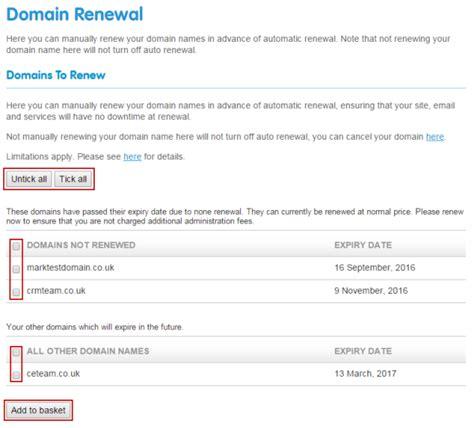 renew  domains  reg support