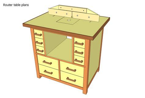 woodwork router table router table plans