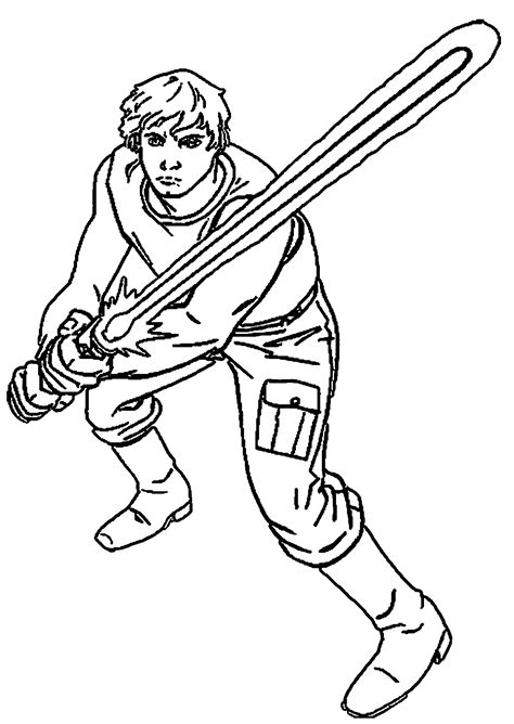 wars coloring pages luke skywalker coloring home