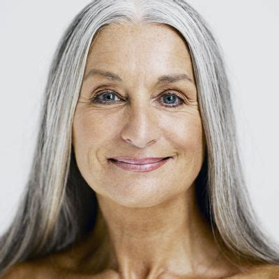 bold streaks in hair for 60 year old the best foundation for mature skin