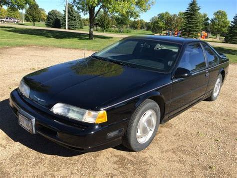 how cars run 1989 ford thunderbird auto purchase used 1989 ford thunderbird super coupe 2 door