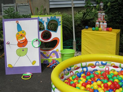 themed party m colourful carnival themed birthday party margusriga baby