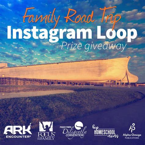 How To Set Up An Instagram Giveaway - road trip instagram loop giveaway hip homeschool moms