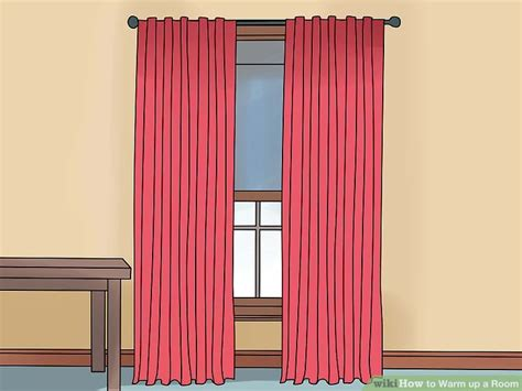 curtains to keep room warm how to warm up a room 13 steps with pictures wikihow