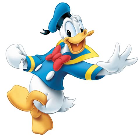 Donald To Be A by Donald Duck Png Images Free