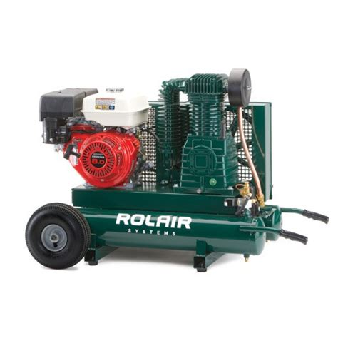 rol air 8422hk30 9 hp gas powered belt drive air compressor