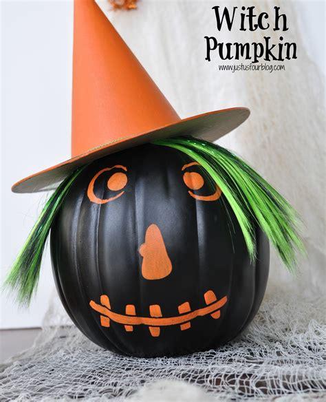 witch pumpkin 20 crafty days of witch pumpkin craft see