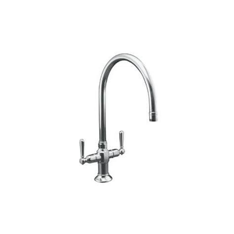 kohler gooseneck kitchen faucet k 7341 4 s kohler k 7341 4 s hirise kitchen sink
