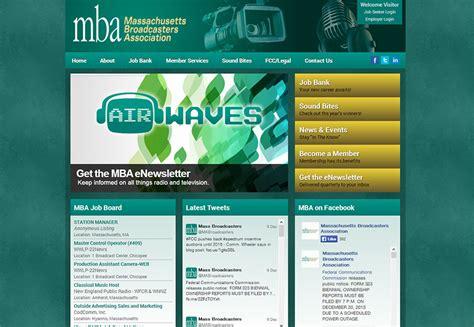 Umass Mba Program Cost by Massachusetts Broadcasters Association Mediagin Creative