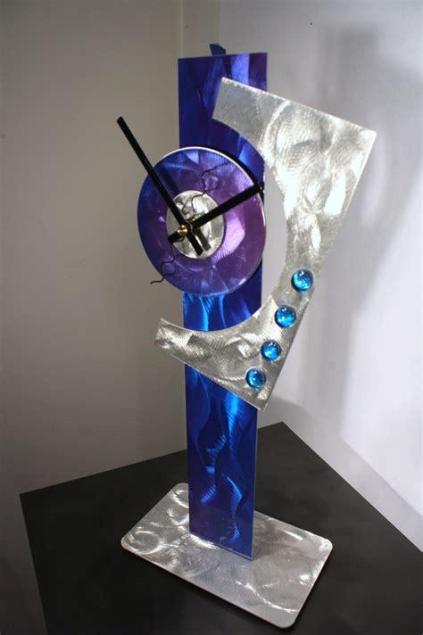 stainless sculpture modern abstract home decoration public modern metal art mantel clock abstract sculpture decor