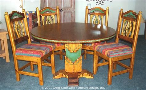 southwest dining room furniture pin by creech on southwest style