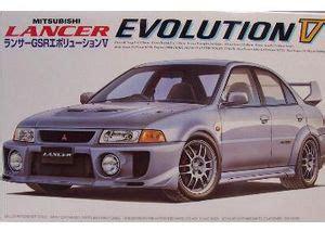 Fujimi 124 Lancer Evolution V Gsr mitsubishi lancer gsr evolution v fujimi 034416