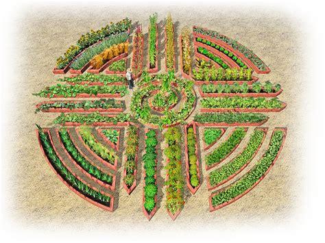 paul mirocha design and illustration a garden mandala