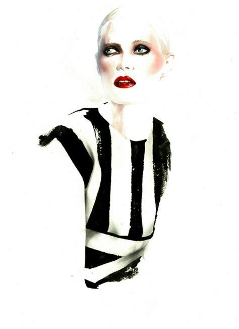 On Our Radar Stylecom Auctions Fashion Illustrations by Ant 243 Nio Soares Fashion Illustrations Trendland
