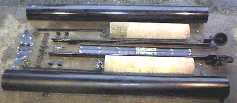 Westland Engineers Ltd Welrise Double Width Canopy Door Garage Door Counterbalance