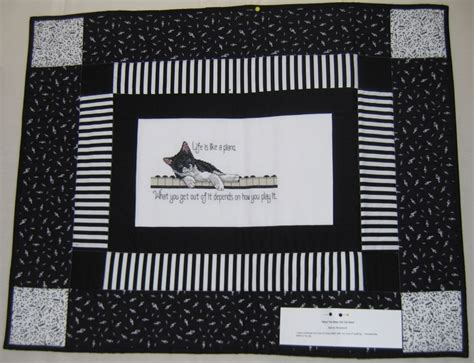 Piano Quilt Pattern by National Quilt Day 2009 Western Nc Quilters Guild
