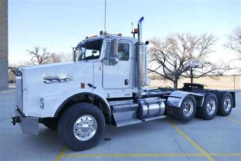 kenworth heavy haul for sale kenworth t800b 2006 daycab semi trucks
