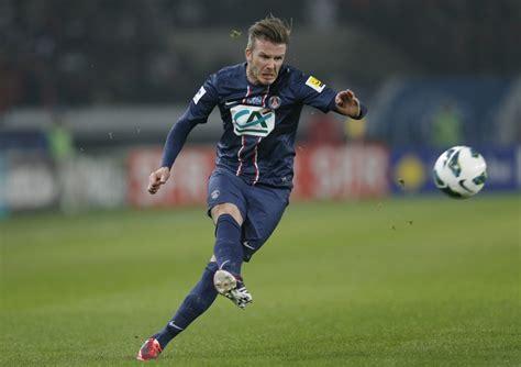 David Beckham Injures Knee In Soccer Match by David Beckham Appointed Global Ambassador For Football