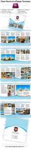 blue business brochure indesign template 15x15cm
