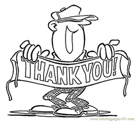 thank you teacher owl coloring page coloring page