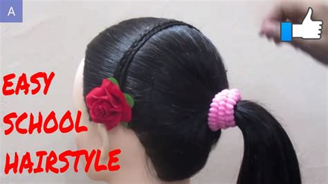 4 cute back to school hairstyles promise phan easy school hairstyle simpal hairstyle doovi