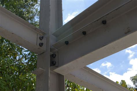 steel structure component connection