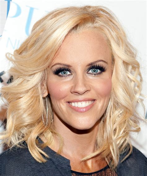 what color is jenny mccarthy hair jenny mccarthy long wavy formal hairstyle light blonde