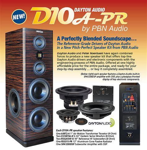 Speaker Fabulous 10 dayton audio d10a pr fabulous speaker with powered
