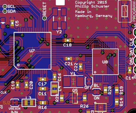 capacitor pcb layout building your own custom teensy appfruits