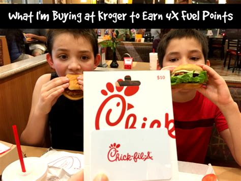 Chick Fil A Gift Card Kroger - deals page 7