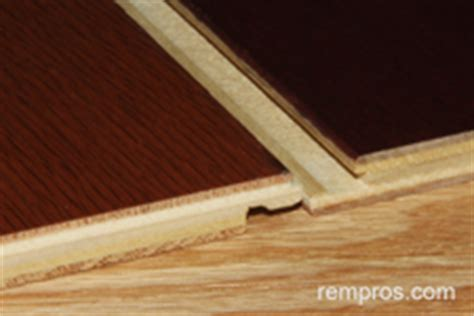 Floating cork vs click lock engineered wood flooring