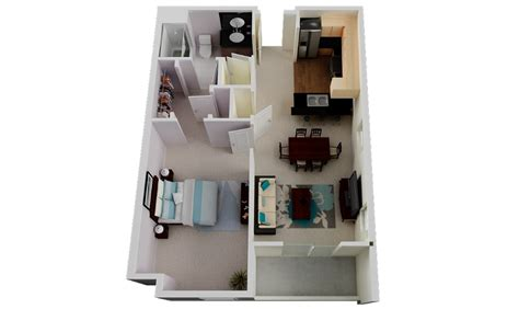 dormitorio de apartamento apartamentos and dormitorios on 47 planos de apartamentos de 01 dormitorio tikinti