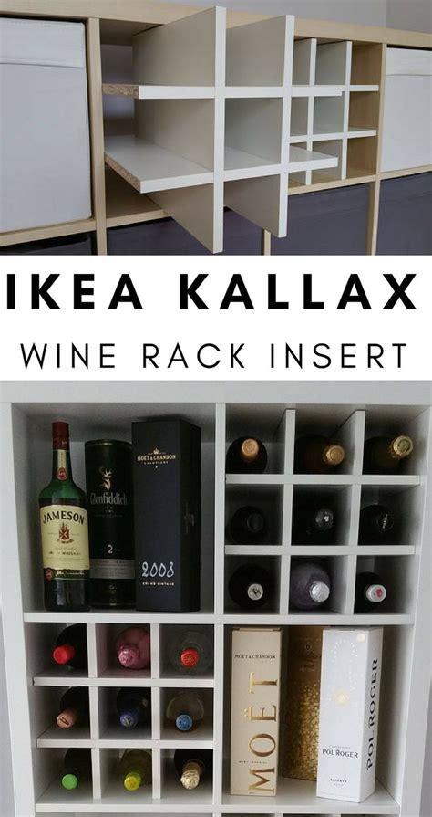 kallax wine rack the 25 best kallax insert ideas on pinterest ikea