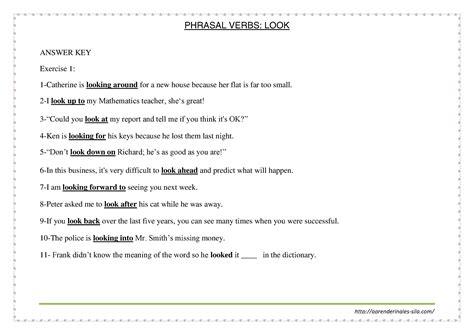 preguntas con look like phrasal verb con quot look quot aprende ingl 233 s sila