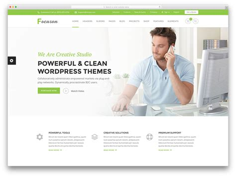 Templates Business Website 50 Best Wordpress Corporate Business Themes Of 2018 Colorlib